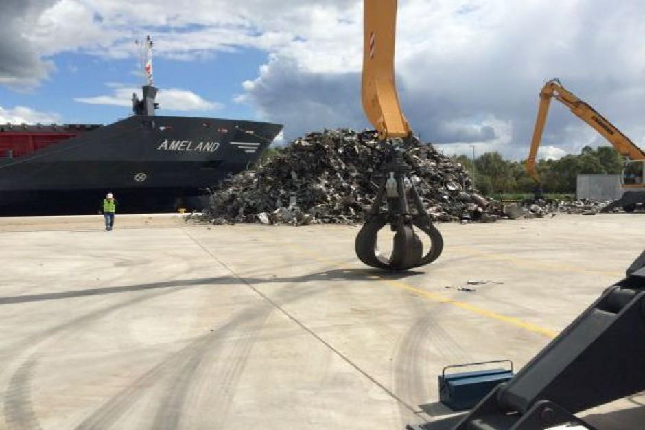 Szczeciński port ma terminal do załadunku materiałów metalowych