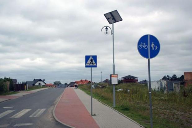 Lampy solarne w Mierzynie i gminie Dobra