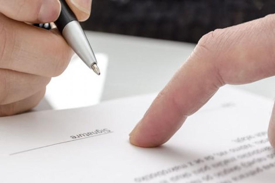 Dochodzenia ws. podrobienia podpisów na listach w Olsztynie