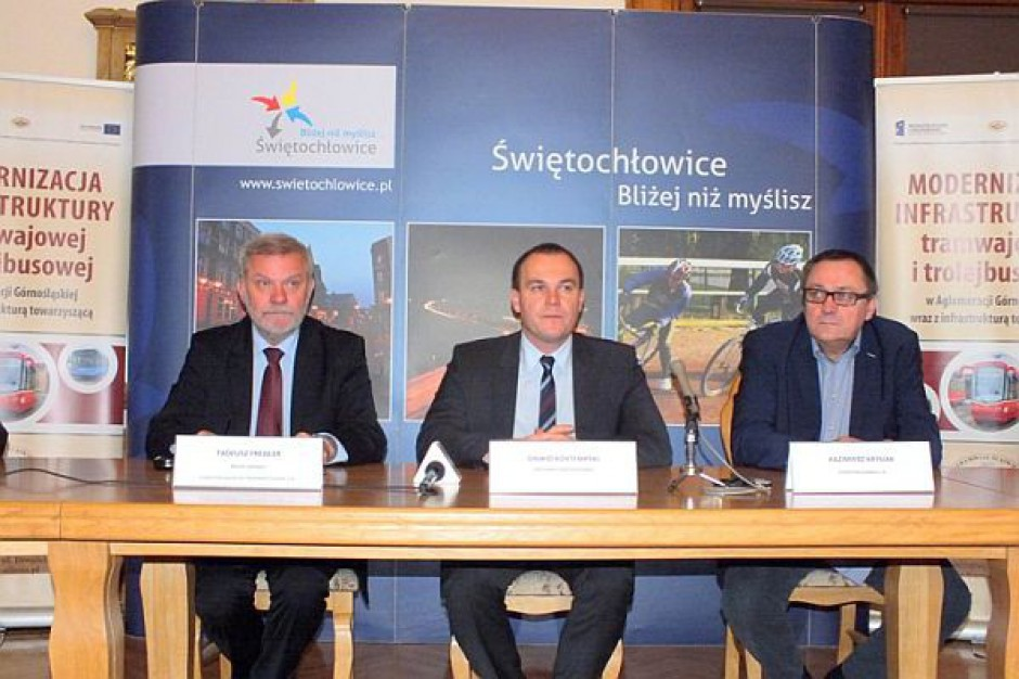 Modernizują torowiska w Świętochłowicach