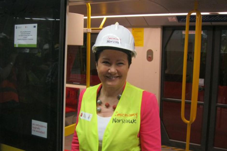 Stolica chce pieniędzy z UE m.in. na metro i tramwaje