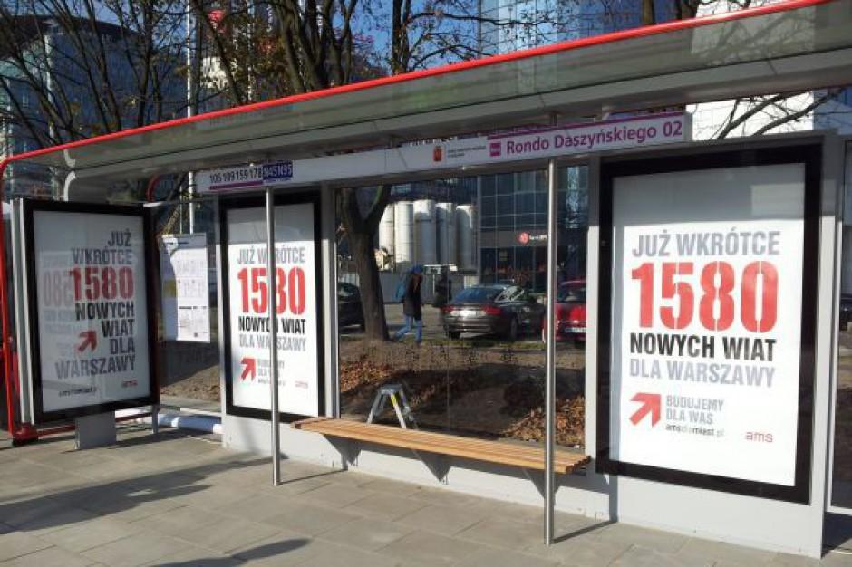 Rozpoczęła się największa polska inwestycja w meble miejskie