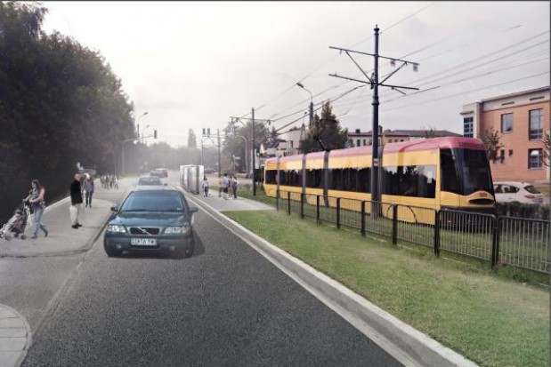 Z Łomianek do Warszawy tramwajem?