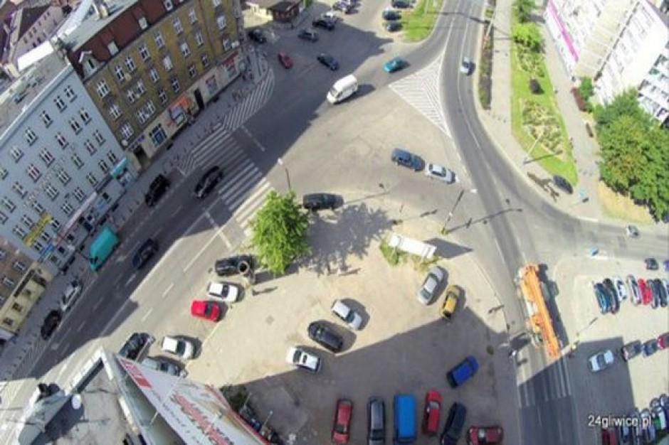 W centrum Gliwic powstanie zielona wyspa i nowy pas