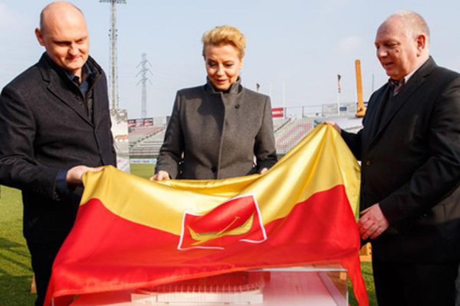 Tak będzie wyglądał stadion miejski w Łodzi (wizualizacja)