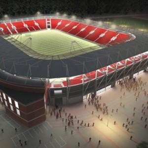 Stadion miejski w Łodzi (wizualizacja)