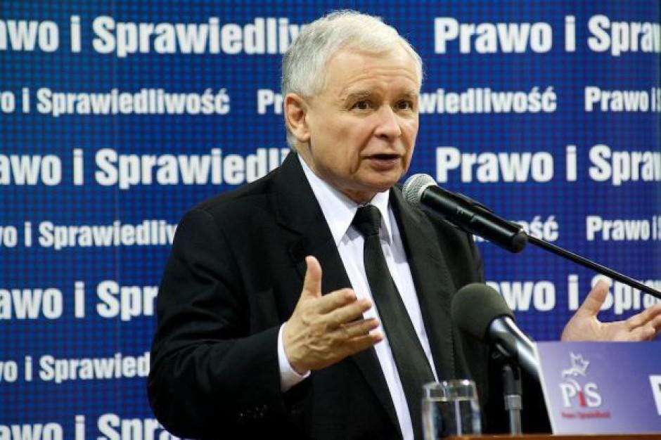 Prezes PiS: przewidujemy, że pomnik L. Kaczyńskiego stanie 10 listopada br.
