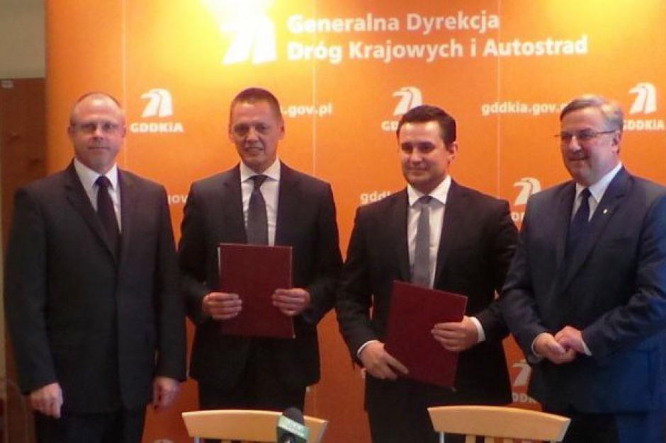 Droga Miłomłyn-Ostróda pierwszym zadaniem z nowego kontraktu
