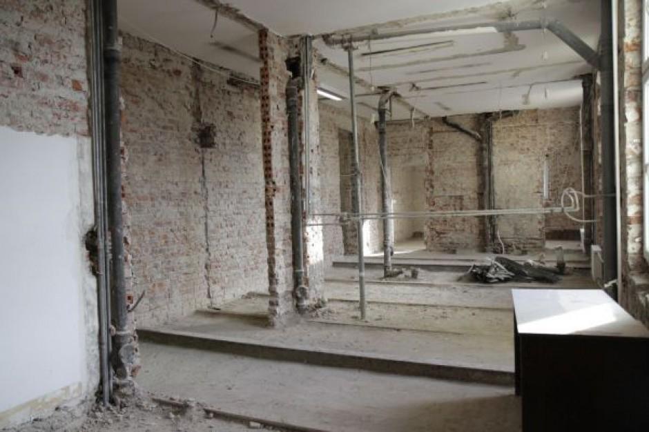 Trwa remont Oddziału Pediatrii w szpitalu Copernicus w Gdańsku