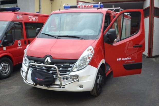 Ochotnicze Straże Pożarne bogatsze są w sprzęt ratowniczy