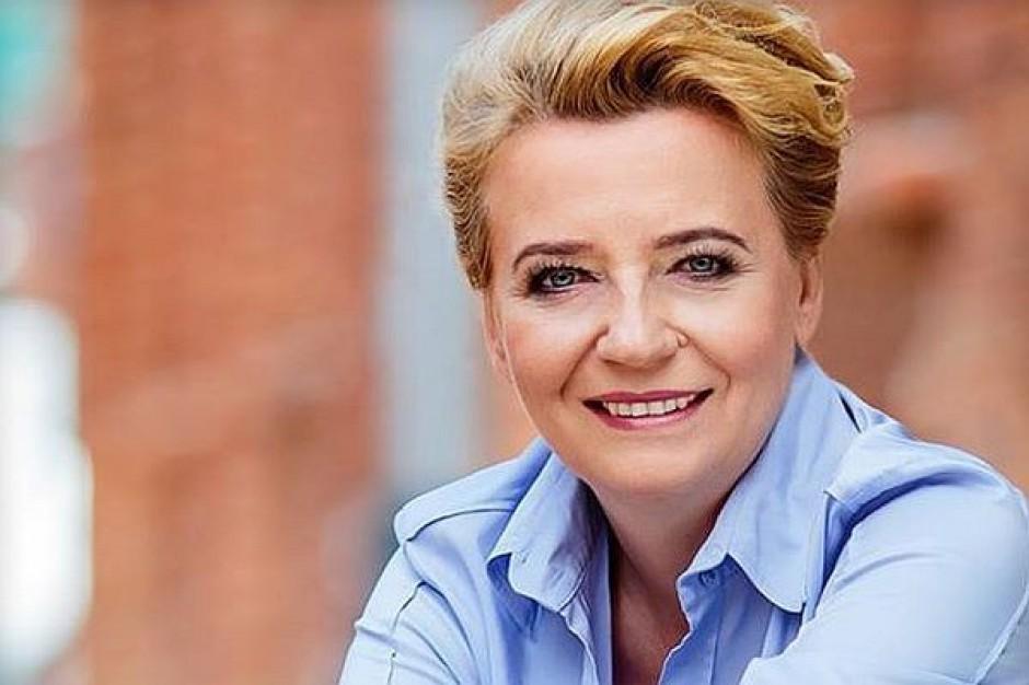 Ipsos: Hanna Zdanowska wygrywa w pierwszej turze