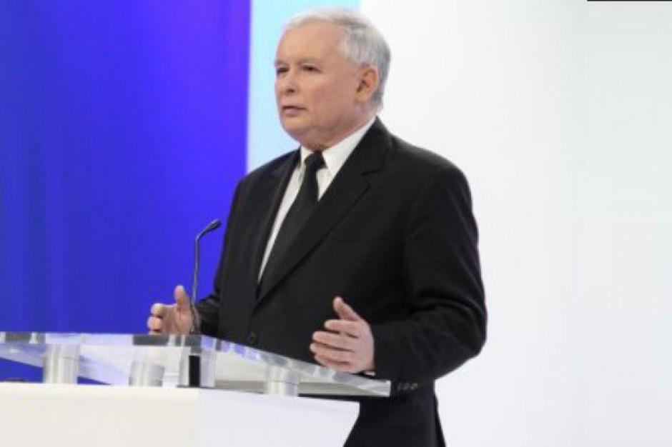 Kaczyński: ogłoszone przez PKW wyniki uważamy za nieprawdziwe