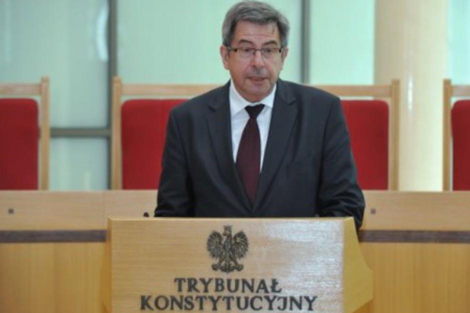 Andrzej Zoll, były prezes TK, o wyborach 2014: Trzeba doprowadzić do nowelizacji Kodeksu wyborczego