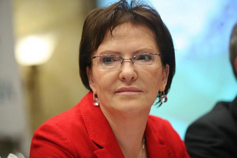 Wybory 2014, Ewa Kopacz: Nie udoskonalimy prawa biegając do PE i kompromitując się