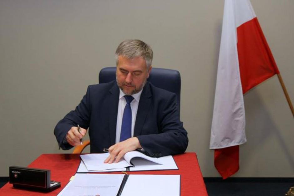 Marek Woźniak znów marszałkiem Wielkopolski