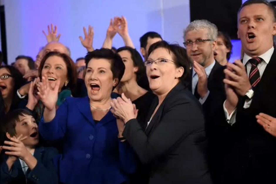 Wybory 2014: Jedni świętują zwycięstwo, inni godzą się z porażką
