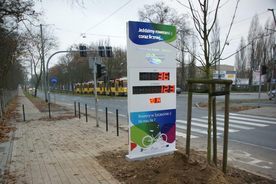 Ilu rowerzystów jeździ w Szczecinie? Sprawdź na liczniku
