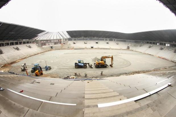 Budowa stadionu w Tychach powoli finiszuje