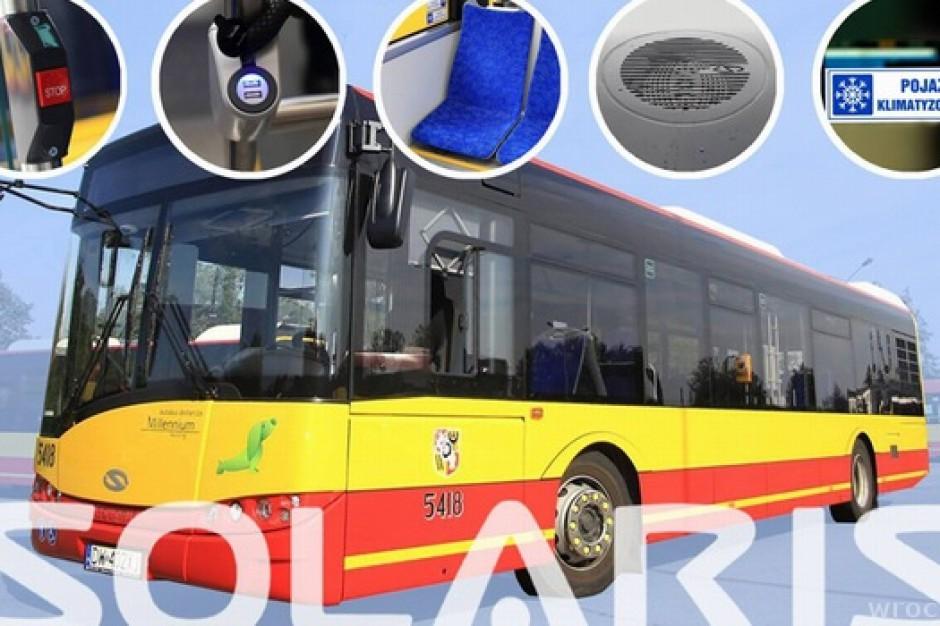 Wrocławskie autobusy naszpikowane nowinkami technicznymi (zdjęcia)