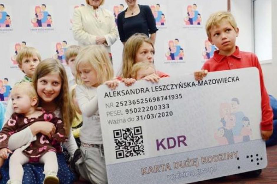 Sejm przyjął ustawę o Karcie Dużej Rodziny