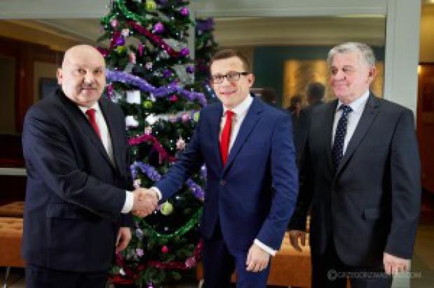 Nowy prezydent Zamościa spotkał się z zarządem województwa