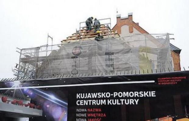 Trwa rozbudowa Kujawsko-Pomorskiego Centrum Kultury