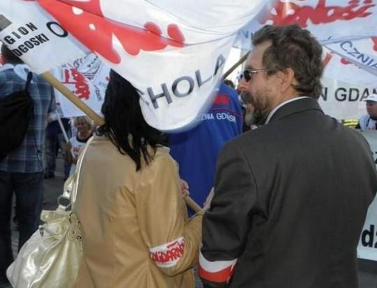 Protestowali przeciw zamrożeniu wynagrodzeń nauczycieli