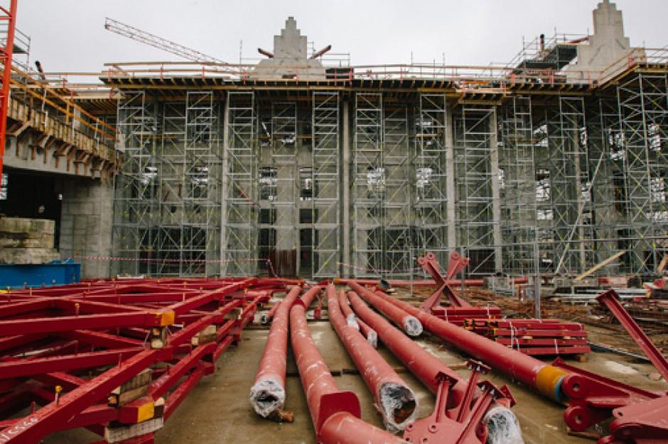 Zobacz jak rośnie dworzec Łódź Fabryczna (zdjęcia)