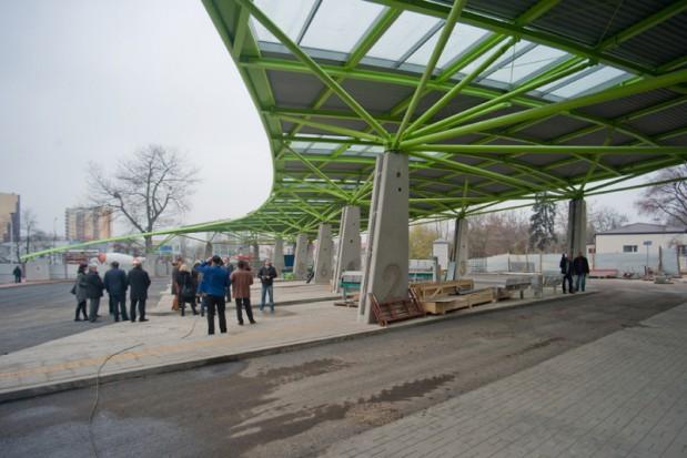Zmodernizowany dworzec autobusowy i kolejowy w Płocku