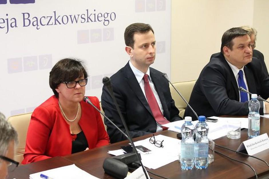 Kształcenie zawodowe i ochrona miejsc pracy tematem dyskusji Komisji Trójstronnej