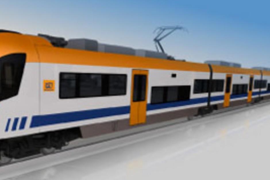 Na torach pojawiły się pociągi Kolei Małopolskich