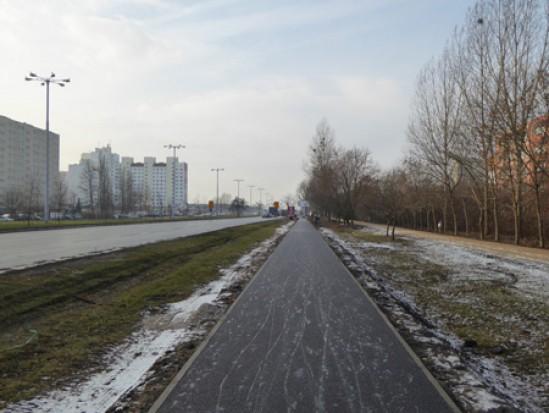 Inwestycje rowerowe w Toruniu na mecie