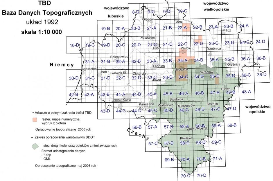 Czy powiaty zapłacą za uaktualnienie baz danych obiektów topograficznych?
