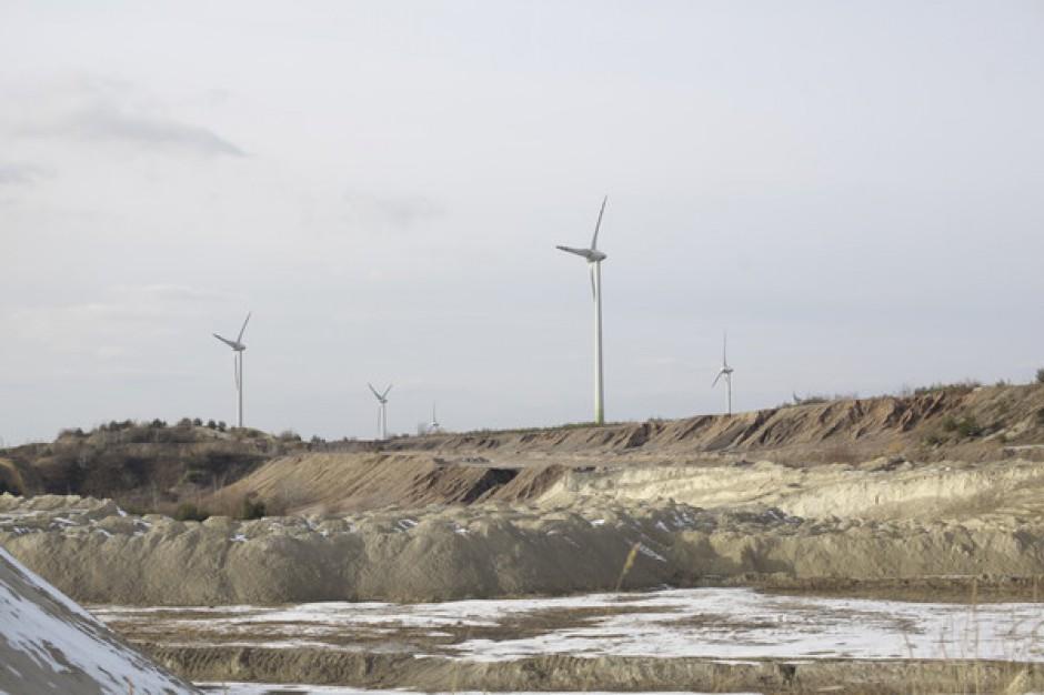 Dawna kopalnia odkrywkowa zmieni się w farmę wiatrową