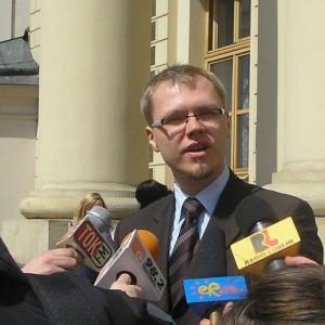 Michał Krawczyk - radny miasta Lublin po wyborach samorządowych 2014