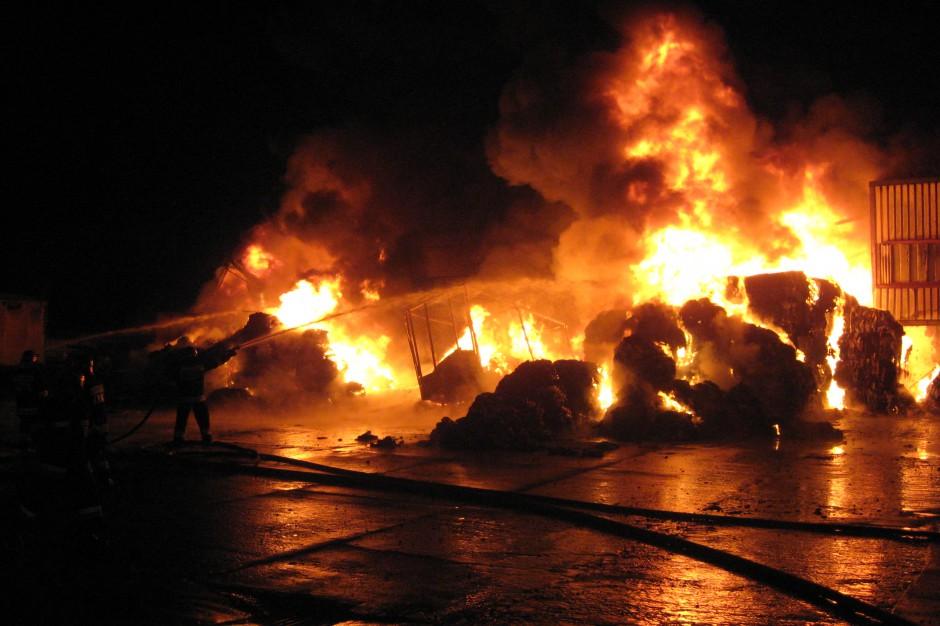 Straż pożarna: najtragiczniejsze święta od kilku lat, zginęło 14 osób