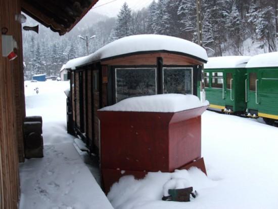 Bieszczadzka Kolejka Leśna może jeździć również podczas zimy
