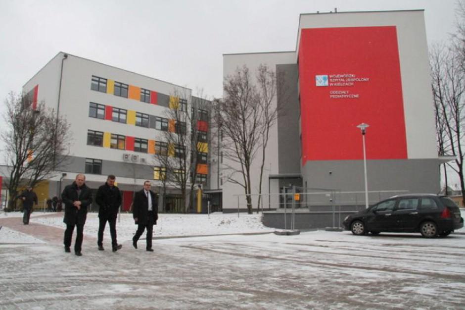 Kielce: nowy szpitalik otwarty. Mali pacjenci pojawią się wiosną