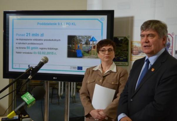 Łódzkie: ponad 21 mln zł z UE na wyposażenie oddziałów przedszkolnych