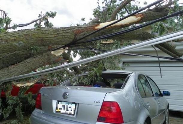 Tysiące gospodarstw domowych bez prądu z powodu silnego wiatru