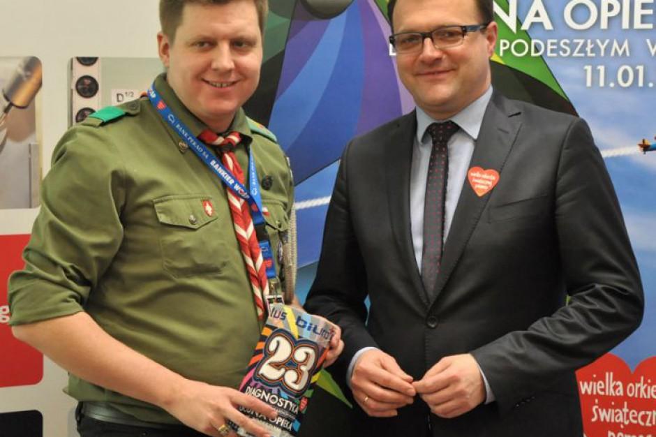 WOŚP gra dla szpitali w Radomiu