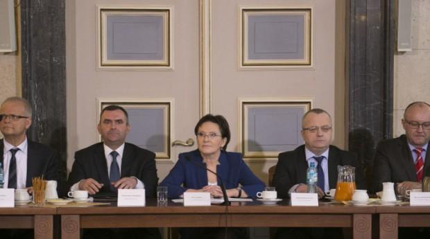 Ustalenia po spotkaniu włodarzy miast z premier Ewą Kopacz