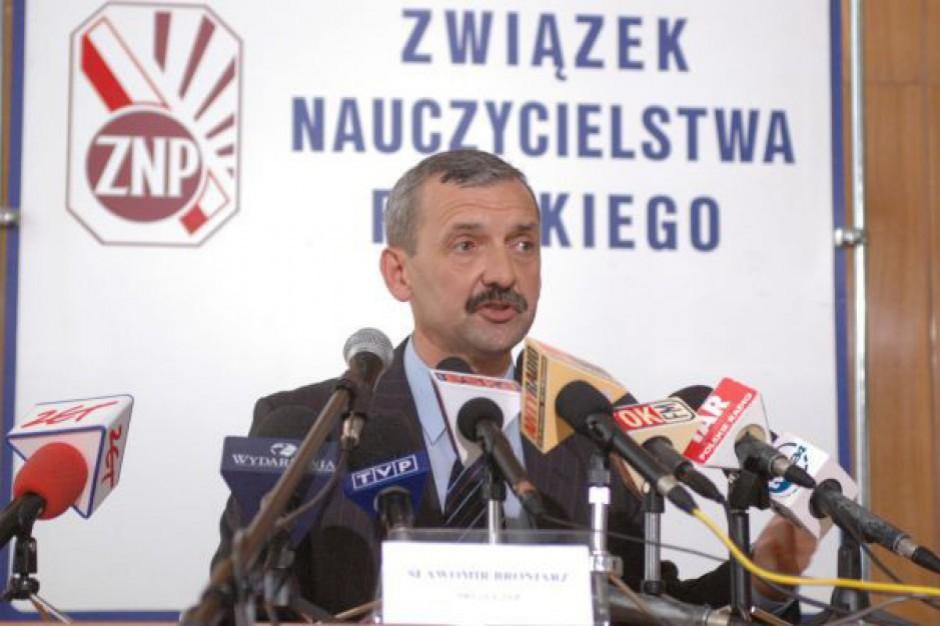 Sławomir Broniarz, ZNP: Zła sytuacja finansowa samorządów nie może być argumentem dla zamrożenia płac nauczycieli