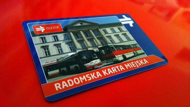 Zmiana terminu odbioru kart miejskich w Radomiu