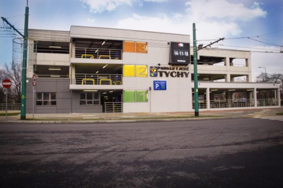 Wielopoziomowy parking Park&Ride otwarto w Tychach