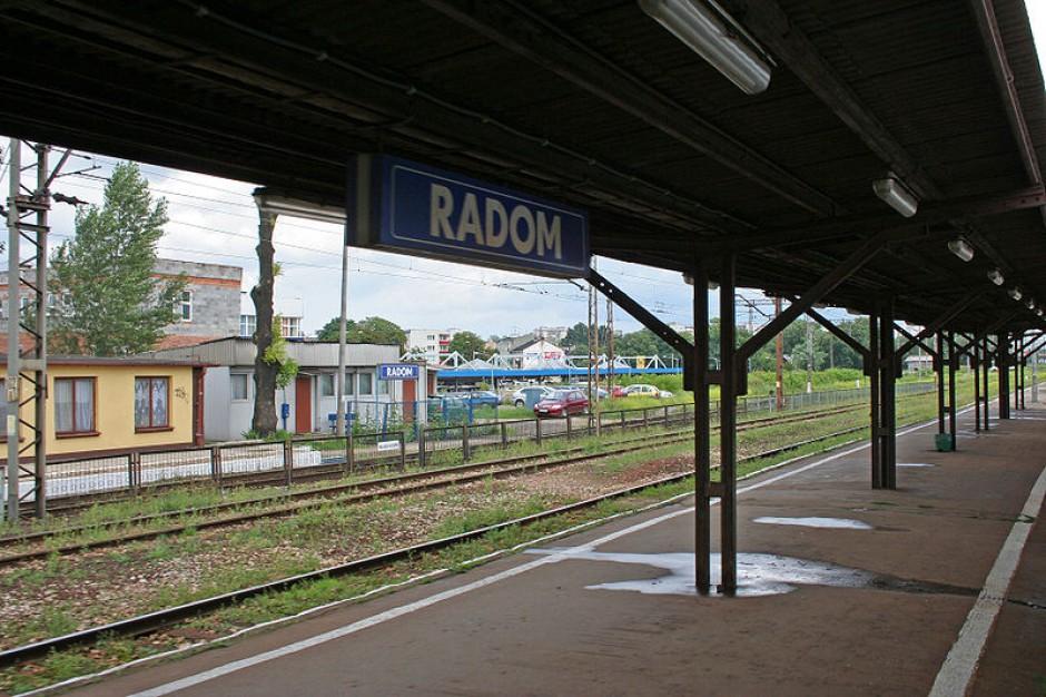 Modernizują stację kolejową w Radomiu