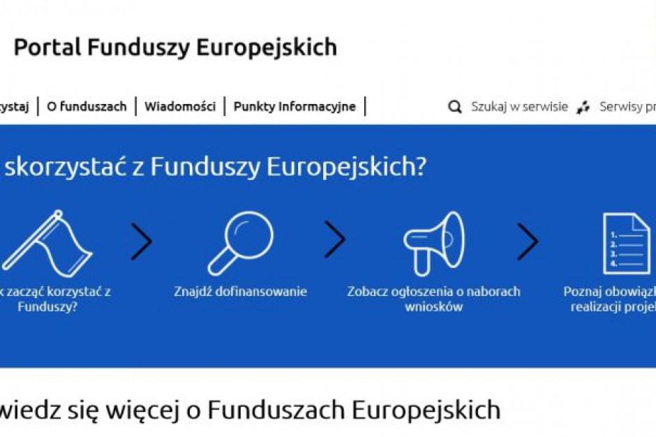 Portal Funduszy Europejskich rusza w nowej odsłonie
