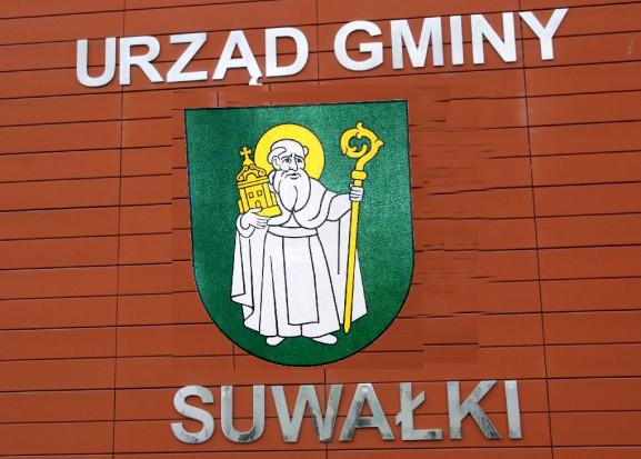 Nowy herb gminy Suwałki