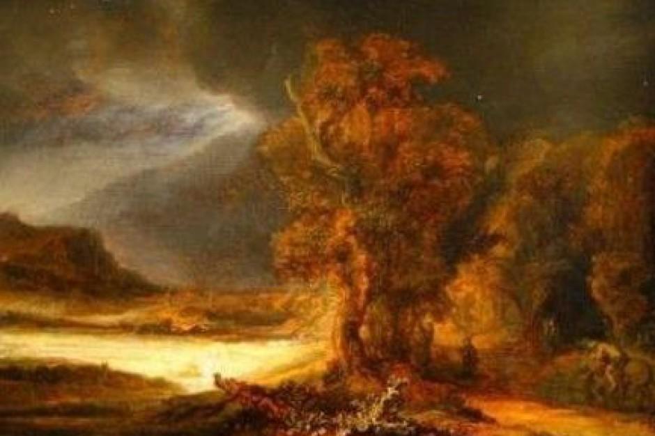 Obraz Rembrandta ściągnięty do Szczecina