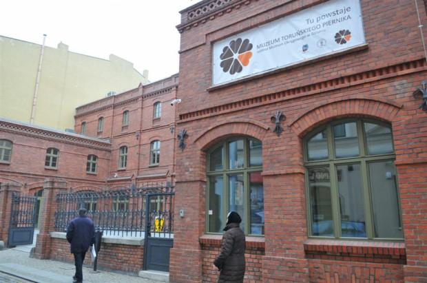Otwarcie muzeum jest planowane na czerwiec br. (fot. Małgorzata Litwin/torun.pl)